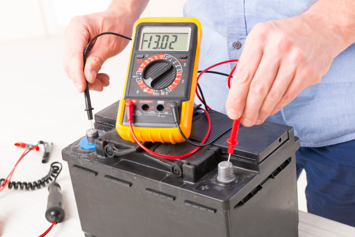 Testing a Car Battery